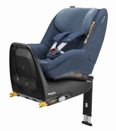 Maxi-Cosi 2 Way Pearl inkl. 2 Way Fix Nomad Blue 2018 - Image de grande taille