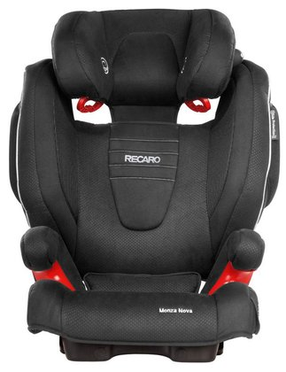 Recaro child car seat Monza Nova 2 Seatfix including Recaro summer cover Black 2016 - Image de grande taille