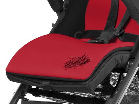 Cybex Seat Liner Hot & Spicy - red 2016 - Image de grande taille