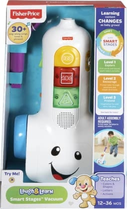 Fisher Price learn vacuum cleaner 2016 - Image de grande taille