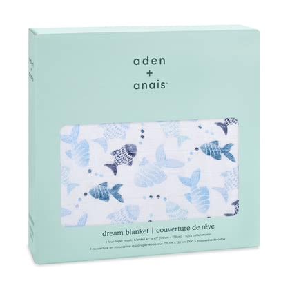 aden+anais Classic Dream couverture gone fishing - Image de grande taille