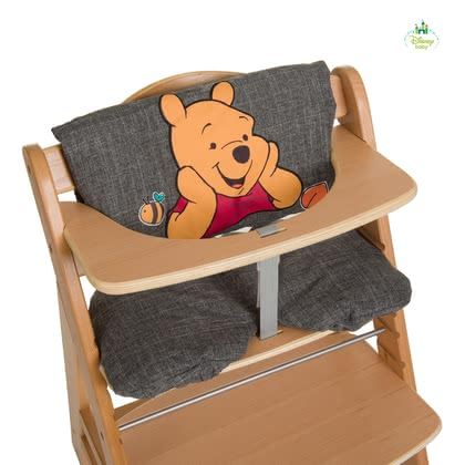 Disney support pour le chaise haute Deluxe Winnie l'Ourson - Le siège confortable chaise deluxe est décoré avec un charmant motif de Winnie l'Ourson de Disney.