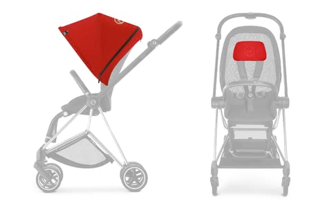 Cybex Platinum MIOS pack de couleur Autumn Gold_burnt red 2018 - Image de grande taille