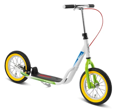 PUKY Air Scooter R 07L weiß_kiwi 2019 - Image de grande taille