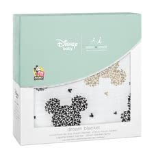 aden+anais Mickeys 90tième Collection Dream Couverture - À l'occasion du 90e anniversaire de Micky Maus aden + anais présente une collection exclusive de Disney métallique avec des images populaires de la vie d...