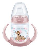 NUK Disney Classics First Choice Learner Bottle, 150 ml – Limited Edition - Le monde des produits NUK est éteint immédiatement en l'aimant, personnage Disney Bambi et Dumbo en édition limitée vous enchantera.