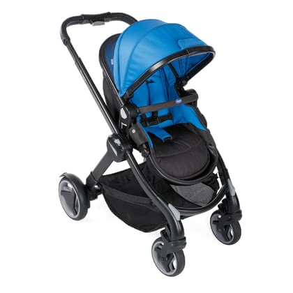 Chicco poussette Fully Power Blue 2020 - Image de grande taille