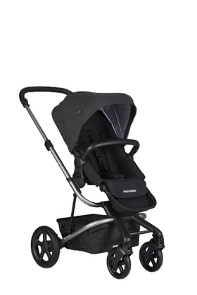 Easywalker poussette Harvey 2 night black_frame platinum 2019 - Image de grande taille