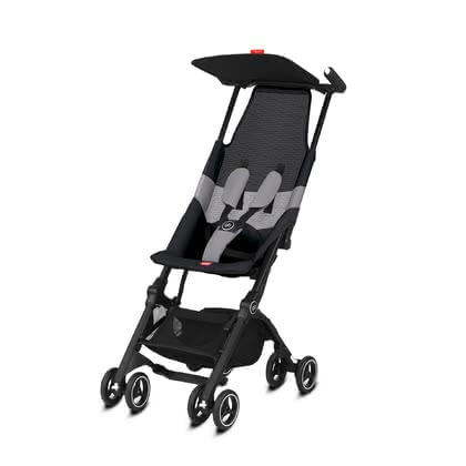gb by Cybex poussette pliante Pockit Air All Terrain - Le Go distinctif de poussette Cybex Pockit air est le tout terrain buggy plus compacte du monde et les notes hors tension immédiatement avec un mesh resp...