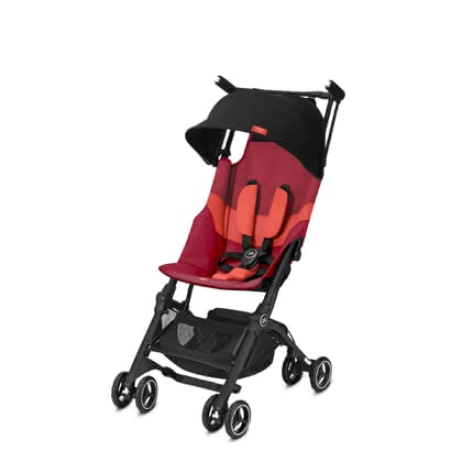 gb by Cybex poussette pliante Pickit + All Terrain Rose Red_red 2019 - Image de grande taille