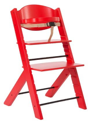 Treppy High Chair Red 2019 - Image de grande taille