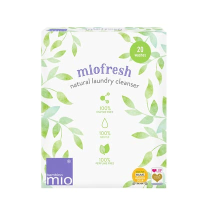 BambinoMio miofresh additifs de lavage naturellement - L'additif de lavage de BambinoMio miofresh, respectueux de l'environnement et biodégradable, est spécialement conçu pour faire des couches de tissu et d'...