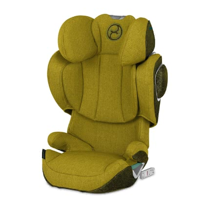 Cybex Platinum Kindersitz Solution Z-Fix Plus Mustard Yellow - yellow 2020 - Image de grande taille