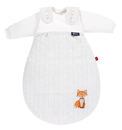 "s.Oliver by Alvi Baby-Mäxchen® All-Year-Round Baby Sleeping Bag, 3 Pieces – ""Fox"" - Qui dit sac de couchage, pense petite fille®!"