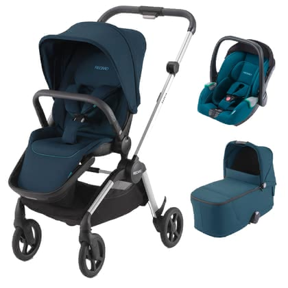 Recaro Sadena 3-in-1 Travel System Select Teal Green 2020 - Image de grande taille