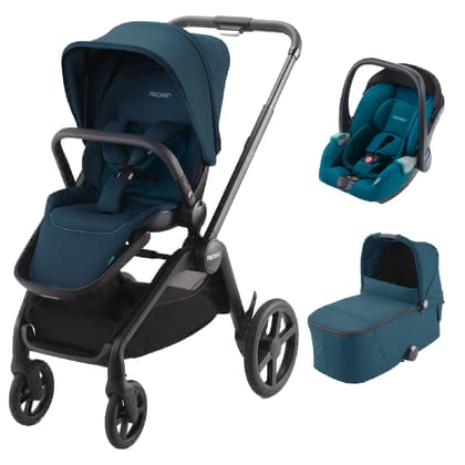 Recaro Celona 3-in-1 Travel System Select Teal Green - Image de grande taille