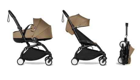 Babyzen YOYO² including Carrycot and Textile Set 6+ toffee 2021 - Image de grande taille