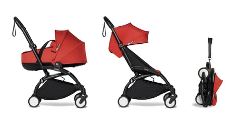 Babyzen YOYO² including Carrycot and Textile Set 6+ red 2021 - Image de grande taille