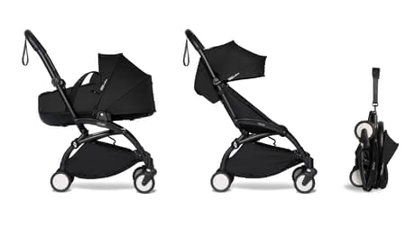 Babyzen YOYO² including Carrycot and Textile Set 6+ black 2021 - Image de grande taille