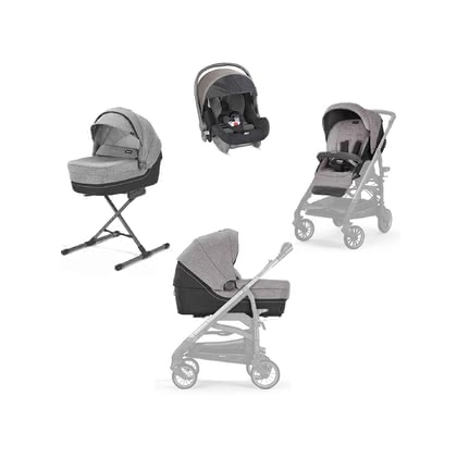 Inglesina System Quattro Trilogy Maui Grey 2021 - Image de grande taille