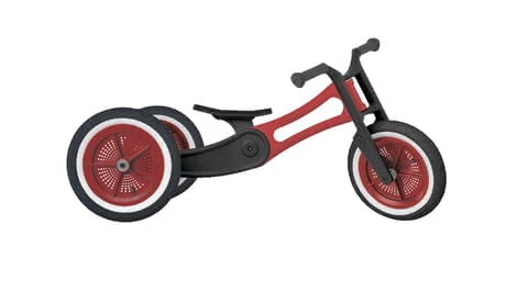 Wishbone Draisienne Bike Recycle-Edition 3en1 Red - Image de grande taille